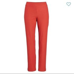 Eileen Fisher stretch crepe ankle pants NWT PS